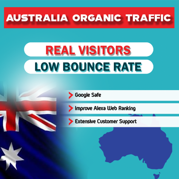 buy australia organic web traffic