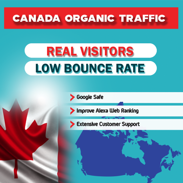 buy canada organic website traffic